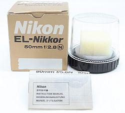 ニコン EL-ニッコール 50mmF2.8N