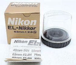 ニコン EL-ニッコール 63mmF2.8N