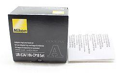 アダプターリング UR-E24 レンズフード HN-CP18セット