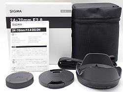 シグマ 24-70mmF2.8 DG DN (ライカLマウント) Art