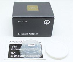 フォクトレンダー VM Eマウントアダプター