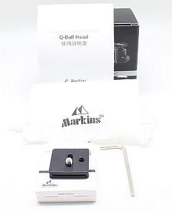 マーキンス 自由雲台 Q3i-RD (ノブタイプ)