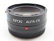 キポン BAVEYES マウントアダプター ALPA-FX x0.7