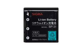 シグマ Li-ionバッテリーBP-31