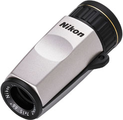 ニコン モノキュラーHG 7x15D  <ソフトケース・ストラップ付>