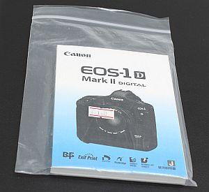 キャノン 使用説明書 (EOS-1D Mark II)