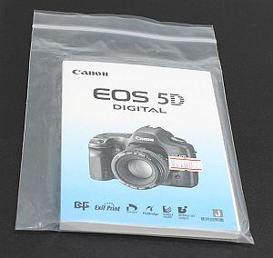 キャノン 使用説明書 (EOS 5D)