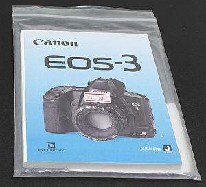キャノン 使用説明書 (EOS-3)