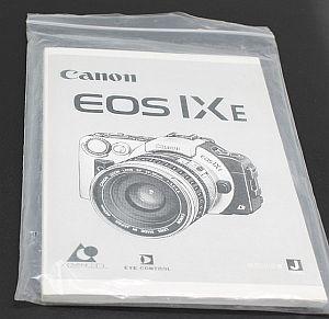 キャノン 使用説明書 (EOS IXE)