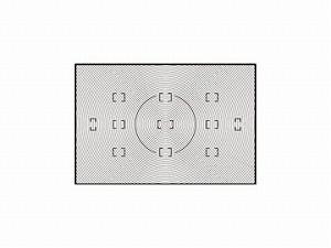 ニコン ファインダースクリーンB型 (D2シリーズ用) ≪新品処分品≫