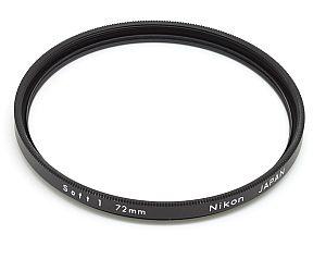 ニコン ソフトフォーカスフィルター1 72mm