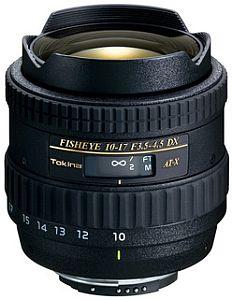 トキナー AT-X 107 DX Fisheye (ニコン) 10-17mm F3.5-4.5(IF)