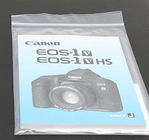 キャノン 使用説明書 (EOS-1V)