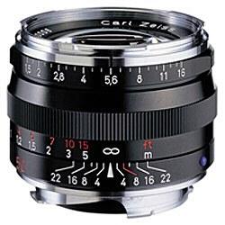 コシナ Carl Zeiss C Sonnar T* 1.5/50 ZM (ブラック)