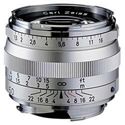 コシナ Carl Zeiss C Sonnar T* 1.5/50 ZM (シルバー)