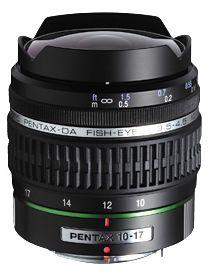 ペンタックス DA FISH-EYE 10-17mm F3.5-4.5 ED [IF]