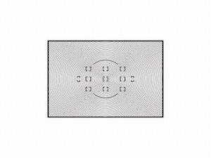 ニコン ファインダースクリーンB型 (F6用)