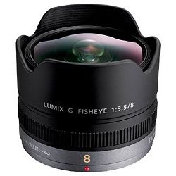 パナソニック LUMIX G FISHEYE 8mm F3.5 H-F008