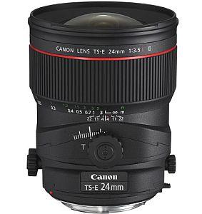 キャノン TS-E24mm F3.5L II