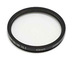ケンコー ライカ用フィルター 43mm 黒枠 UVフィルター