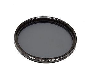キャノン 円偏光フィルターPL-C B 52mm
