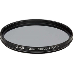 キャノン 円偏光フィルターPL-C B 58mm