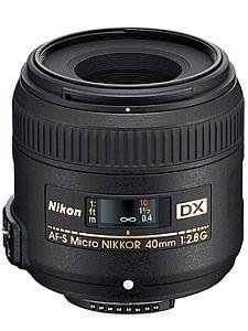 ニコン AF-S DX Micro NIKKOR 40mm F2.8G
