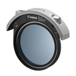 キャノン 52mmドロップイン円偏光フィルター PL-C52(WII)