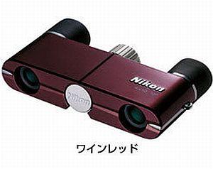 ニコン 遊 4X10D CF (ワインレッド)  <ソフトケース・ストラップ付>