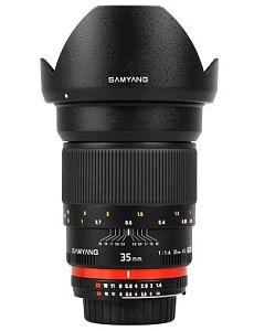 サムヤン 35mm F1.4 Aspherical IF (キャノン用)