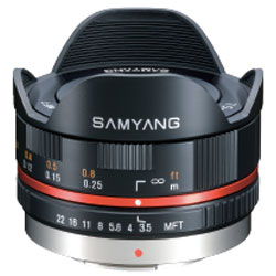 サムヤン 7.5mm F3.5 フィッシュアイ (マイクロフォーサーズ/ブラック)