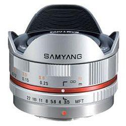 サムヤン 7.5mm F3.5 フィッシュアイ (マイクロフォーサーズ/シルバー)