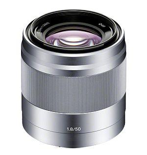 ソニー E 50mm F1.8 OSS (シルバー) SEL50F18 S