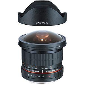 サムヤン 8mm F3.5 Fish-eye CS II (ニコン用)