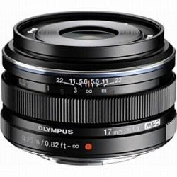 オリンパス M.ZUIKO DIGITAL 17mm F1.8 (ブラック)