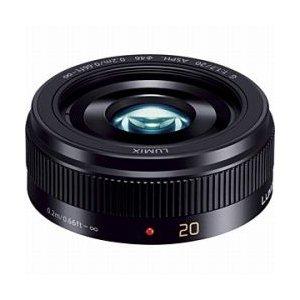 パナソニック LUMIX G 20mmF1.7 II ASPH.(ブラック) H-H020A-K