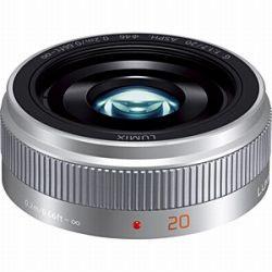パナソニック LUMIX G 20mmF1.7 II ASPH.(シルバー) H-H020A-S