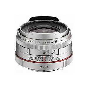 ペンタックス HD PENTAX-DA 15mm F4 ED AL Limited (シルバー)