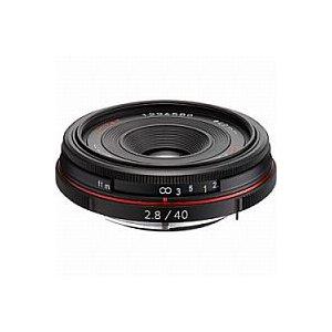 ペンタックス HD PENTAX-DA 40mm F2.8 Limited (ブラック)