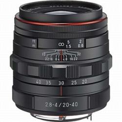 ペンタックス HD PENTAX-DA 20-40mmF2.8-4 ED Limited DC WR (ブラック)