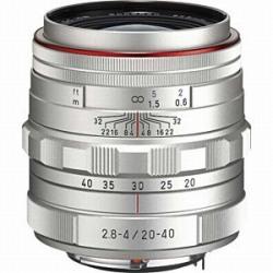 ペンタックス HD PENTAX-DA 20-40mmF2.8-4 ED Limited DC WR (シルバー)