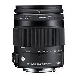 シグマ 18-200mm F3.5-6.3 DC MACRO OS HSM (キャノン) 【Contemporary】