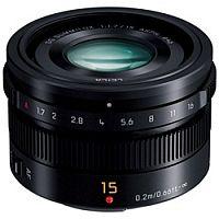 パナソニック LEICA DG SUMMILUX 15mm F1.7 ASPH. (ブラック) H-X015-K