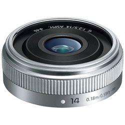 パナソニック LUMIX G 14mm F2.5 II ASPH. (シルバー) H-H014A