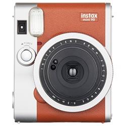 富士フィルム インスタントカメラ instax mini 90 「チェキ」 ネオクラシック (ブラウン)