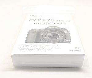 キャノン 使用説明書 (EOS 7D MarkII )