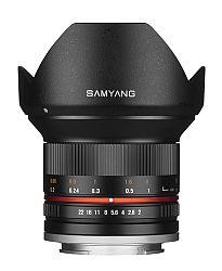 サムヤン 12mm F2.0 NCS CS (キャノンM/ブラック)