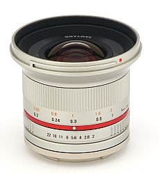 サムヤン 12mm F2.0 NCS CS (マイクロフォーサーズ/シルバー)