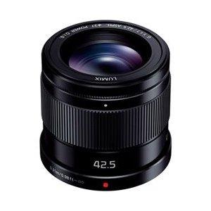 パナソニック LUMIX G 42.5mm F1.7 ASPH. / POWER O.I.S. (ブラック) H-HS043