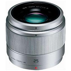 パナソニック LUMIX G 25mm F1.7 ASPH. (シルバー) H-H025